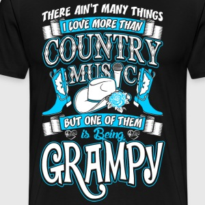 Country Music Grampy T-Shirts - Men's Premium T-Shirt