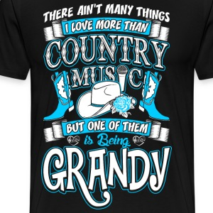 Country Music Grandy T-Shirts - Men's Premium T-Shirt