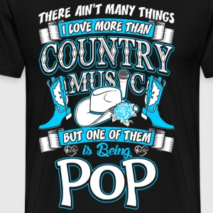 Country Music Pop T-Shirts - Men's Premium T-Shirt