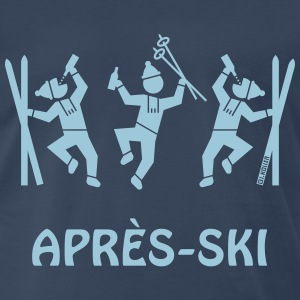 Après-Ski (Party / Winter Sports) T-Shirts - Men's Premium T-Shirt