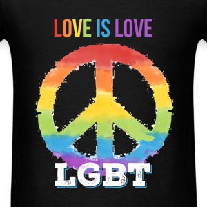 LGBT - Love is love. LGBT - Men's T-Shirt