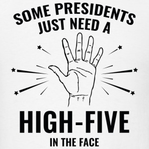President High-Five Face - Men's T-Shirt