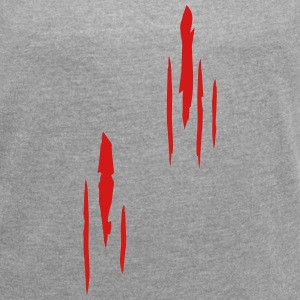 Scratches, Scars T-Shirts - Women´s Roll Cuff T-Shirt