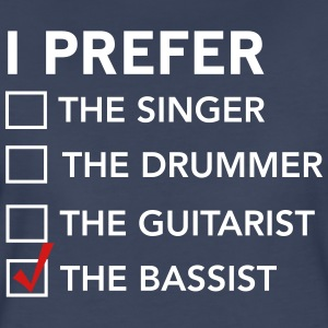 I prefer the bassist checklist T-Shirts - Women's Premium T-Shirt