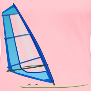 Windsurfing - Women's Premium T-Shirt