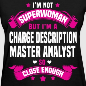 Charge Description Master Analyst Tshirt - Women's T-Shirt
