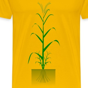 Cereal plant - Men's Premium T-Shirt