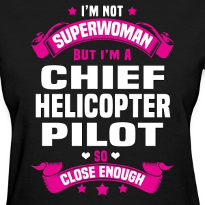 Chief Helicopter Pilot Tshirt - Women's T-Shirt
