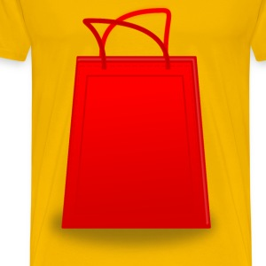 Shopping Bag - Men's Premium T-Shirt