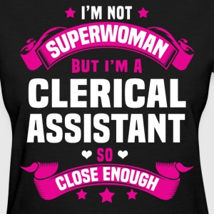 Clerical Assistant Tshirt - Women's T-Shirt