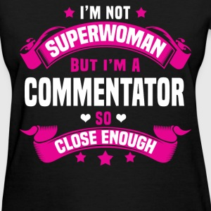 Commentator Tshirt - Women's T-Shirt