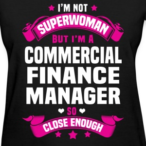 Commercial Finance Manager Tshirt - Women's T-Shirt