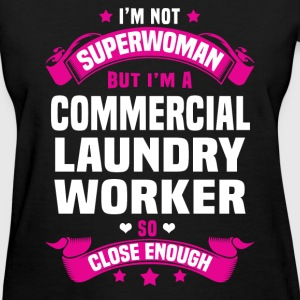 Commercial Laundry Worker Tshirt - Women's T-Shirt