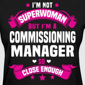 Commissioning Manager Tshirt - Women's T-Shirt