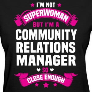 Community Relations Manager Tshirt - Women's T-Shirt