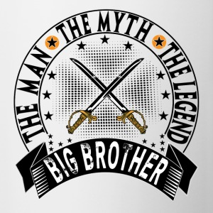 BIG BROTHER THE MAN THE MYTH THE LEGEND Mugs & Drinkware - Contrast Coffee Mug