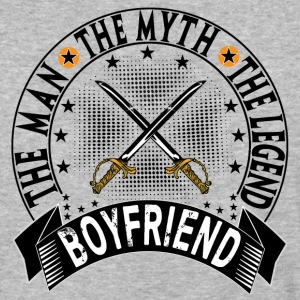 BOYFRIEND THE MAN THE MYTH THE LEGEND T-Shirts - Baseball T-Shirt