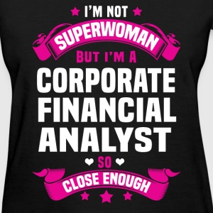 Corporate Financial Analyst Tshirt - Women's T-Shirt
