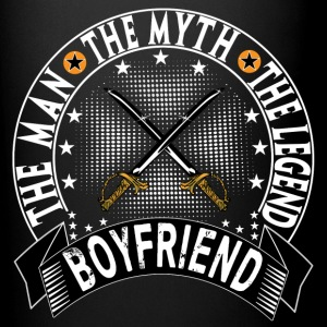 BOYFRIEND THE MAN THE MYTH THE LEGEND Mugs & Drinkware - Full Color Mug