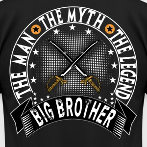 BIG BROTHER THE MAN THE MYTH THE LEGEND T-Shirts - Men's T-Shirt by American Apparel