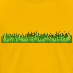 Grass Only - Men's Premium T-Shirt