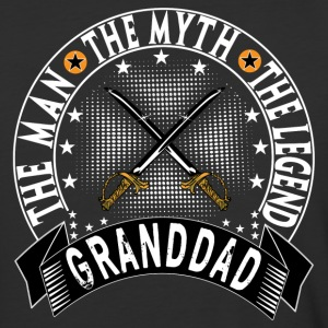 GRANDDAD THE MAN THE MYTH THE LEGEND T-Shirts - Baseball T-Shirt
