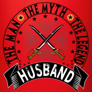 HUSBAND THE MAN THE MYTH THE LEGEND Mugs & Drinkware - Full Color Mug
