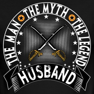 HUSBAND THE MAN THE MYTH THE LEGEND T-Shirts - Men's Ringer T-Shirt