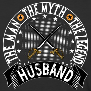 HUSBAND THE MAN THE MYTH THE LEGEND T-Shirts - Baseball T-Shirt