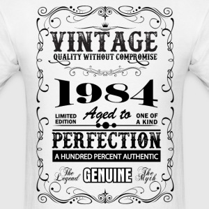Premium Vintage 1984 Aged To Perfection T-Shirts - Men's T-Shirt