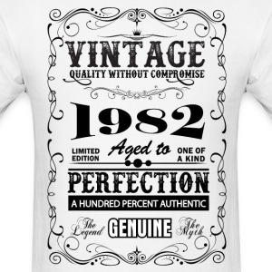 Premium Vintage 1982 Aged To Perfection T-Shirts - Men's T-Shirt