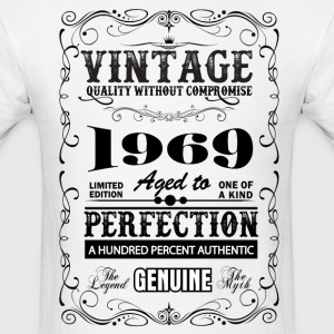 Premium Vintage 1969 Aged To Perfection T-Shirts - Men's T-Shirt