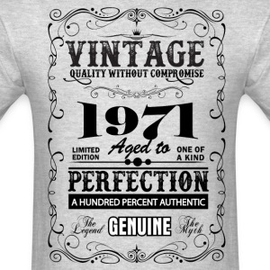 Premium Vintage 1971 Aged To Perfection T-Shirts - Men's T-Shirt