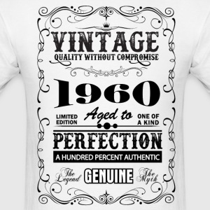 Premium Vintage 1960 Aged To Perfection T-Shirts - Men's T-Shirt