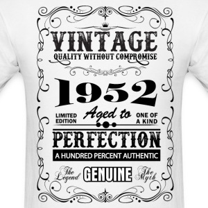 Premium Vintage 1952 Aged To Perfection T-Shirts - Men's T-Shirt