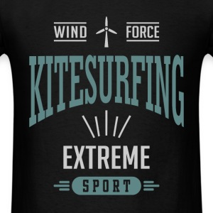 Wind Force | Kitesurfing T-shirt - Men's T-Shirt