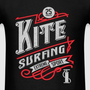 Retro Kitesurfing T-shirt - Men's T-Shirt
