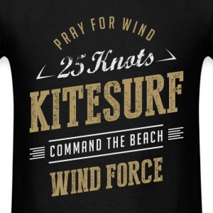 Kitesurfing T-shirt | Command the Beach - Men's T-Shirt