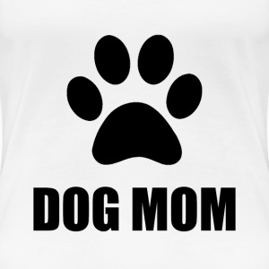 Dog Mom Paw - Women's Premium T-Shirt