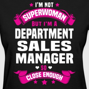 Department Sales Manager T-Shirts - Women's T-Shirt