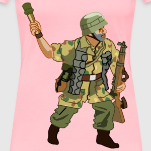 German Fallschirmjager of WW2 - Women's Premium T-Shirt