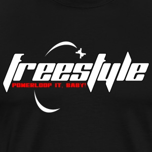 Freestyle - Powerloop it, baby! - Men's Premium T-Shirt