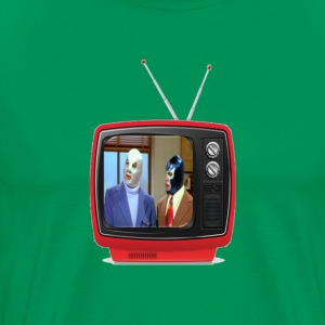 SANTO & BLUE DEMON TV - Men's Premium T-Shirt