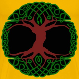 Celtic Tree - Men's Premium T-Shirt