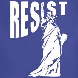 lady liberty resist fist Aprons - Adjustable Apron