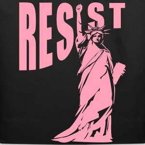 lady liberty resist fist Bags & backpacks - Eco-Friendly Cotton Tote