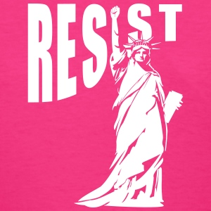 lady liberty resist fist T-Shirts - Women's T-Shirt