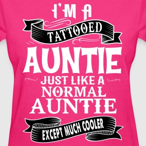 TATTOOED AUNTIE T-Shirts - Women's T-Shirt