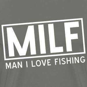 MILF. Man I love fishing T-Shirts - Men's Premium T-Shirt