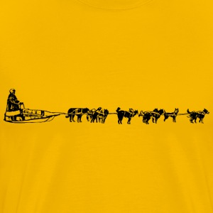 Dog Sled - Men's Premium T-Shirt